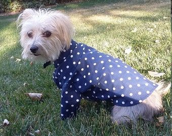 Polka-Dot Top, dog shirt, dog clothing, dog clothes, cute dog clothes, cute dog shirt, unique gift ideas, unique gift, pet clothing, pets
