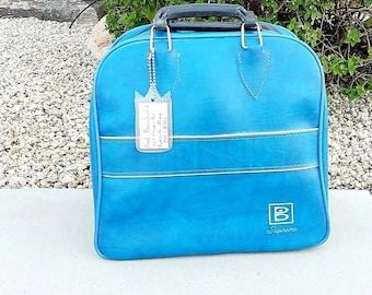 Bowling Ball Bag, Bowling Bag, 1 Ball Bowling Bag, Vintage Sports Decor
