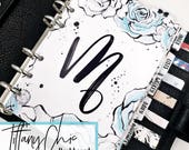 Planner Dashboard - - - Tiffany Chic | One Initial Personalization