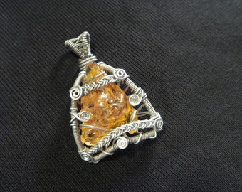 "Pendant ""Amber of Colombia"""