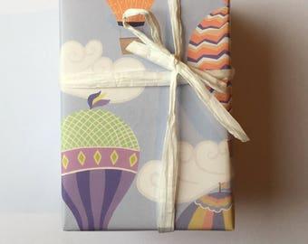 Hot Air Balloon Gift Wrap