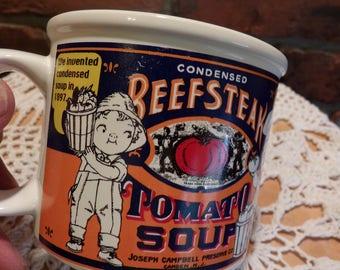 Beefsteak Tomato Soup Mug by Westwood, Campbell's Soup Mug, Campbell's kids mug, Morethebuckles