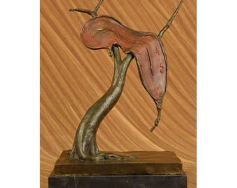 Melting Clock Bronze Sculpture -   By Salvador Dali - B A C K O R D E R - COMING SOON!