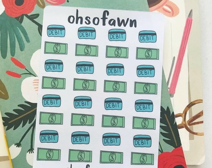 Money/Debit Card Stickers