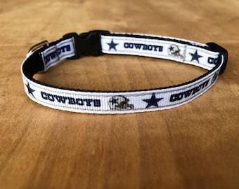 Dallas Cowboys Extra Small Dog Or Cat Collar