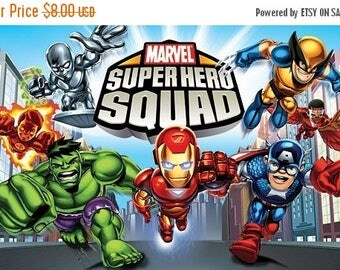 "Marvel super hero squad Counted Cross Stitch Marvel Pattern ristipisto kuvio modell av korsstygn - 27.57"" x 18.21"" - L878"