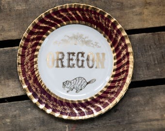 Oregon Plate | Norcrest Fine China