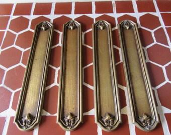 door finger plates etsy. Black Bedroom Furniture Sets. Home Design Ideas