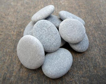 Beach Pebbles, Beach Stones, Round Pebbles, Sea Stones, Stone Buttons, Stone Beads, Small Pebbles