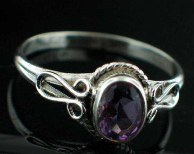 Renaissance Ring, Purple, Amethyst, Sterling Silver, Ireland, Irish, Royal, Jewellry, Connemara, Wild Atlantic Way, Irish Jewellry, Eire