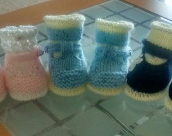 Baby Knitting Patterns - a mix of 3 of my popular patterns on sale 0-6mths