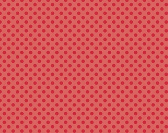 1 Yard Small Dot by Riley Blake Designs -C350-80 Red