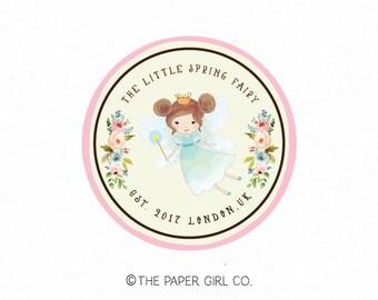 fairy logo princess logo premade logo design baby shop logo children's boutique logo photography logo party planner logo planner shop logo