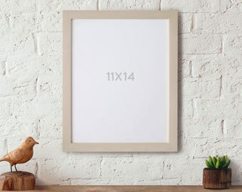 11x14 Wood Frame 11x14 Picture Frame  Art Frames, Photo Frame, Gallery Wall Frame