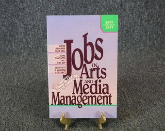 Jobs In Arts And Media Management C. 1993