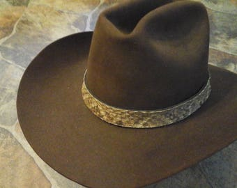 Rattle Snake Hat Band