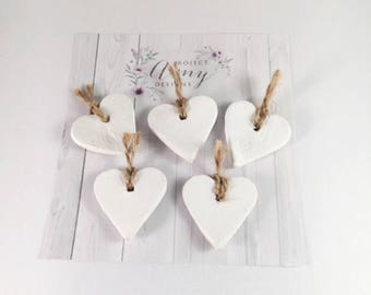 small tags, gift tags, ceramic tags, heart tags, birthday tags, mothers day gift, wedding favours, handmade tags, tags online, personalised