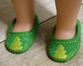 Digital Downoad 14.5 inch Doll Tree Shoes In The Hoop EMBROIDERY MACHINE DESIGN for the 4x4 hoop