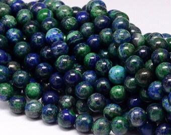 10mm Natural Phenix Lapis Lazuli Beads Round 10mm Lapis Lazuli 10mm Lapis 10mm Beads Blue Lapis Stone Lapis Lazuli Stone Blue