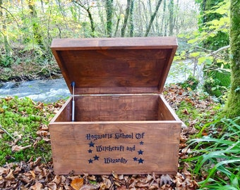 Wizard Spells & Potions Chest Memory Trunk Harry Potter Inspired