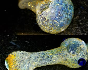 4 inch Glass Pipe Free Priority US Shipping arrives in 1-3 days