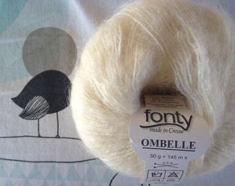 UMBEL-snow Fonty MOHAIR wool