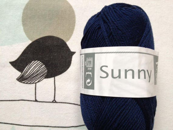 WOOL SUNNY Admiral - white horse
