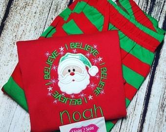 Santa - I believe - Christmas shirt