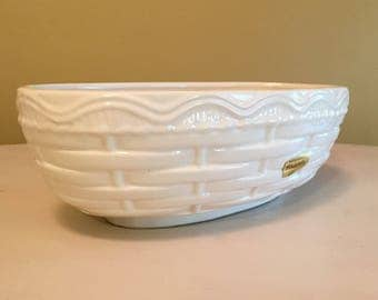 Oval Haeger Basket Bowl