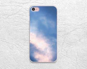 Purple Blue Sky phone case for iPhone 7 Plus, Google Pixel XL, Sony Xperia Z5, LG G5, Nexus 5X, Samsung S7 Edge, HTC One M9, Nexus 6P -X25