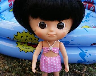 Pink bikini for Mini MUI CHAN