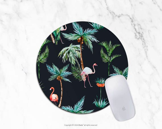 Flamingos Mousepad Palm mouse pad Round mousepad Rectangle Mouse pad Beautiful Design Mouse mat Cute gift Mousepad 30