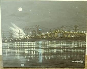 Skyway Bridge Art Etsy