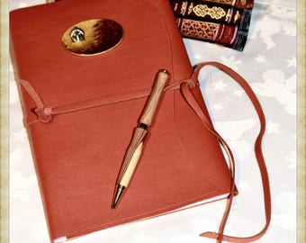Beautiful case for notebook orangey-book or notebook
