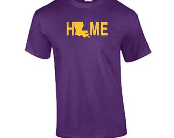 Louisiana Home T Shirt