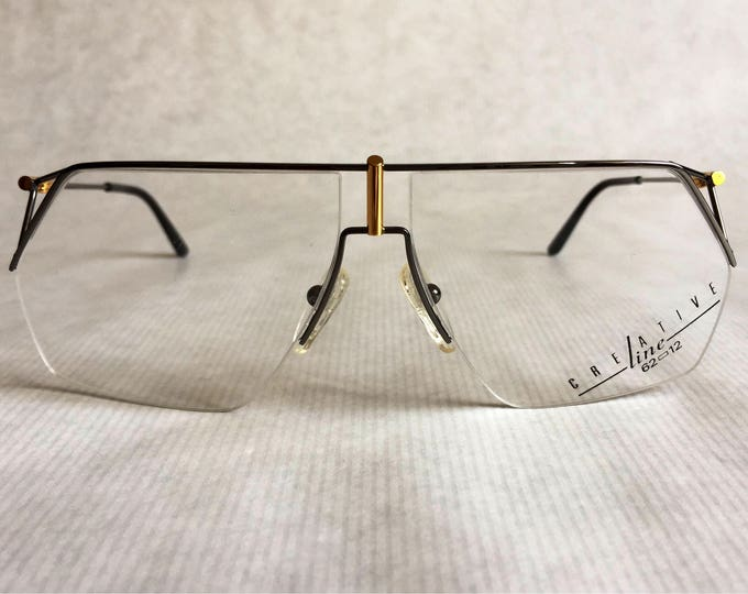 Creative Line 01 by Essilor Vintage Glasses Made in France New Unworn Deadstock including Card and Case