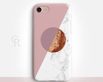 Nude Marble iPhone 7 Plus Case For iPhone 8 iPhone 8 Plus - iPhone X - iPhone 7 Plus - iPhone 6 - iPhone 6S - iPhone SE Samsung S8 iPhone 5