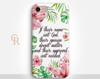 God Inspiration Phone Case For iPhone 8 iPhone 8 Plus - iPhone X - iPhone 7 Plus - iPhone 6 - iPhone 6S - iPhone SE - Samsung S8 iPhone 5