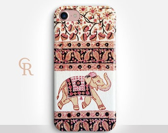 Elephant Phone Case For iPhone 8 iPhone 8 Plus iPhone X Phone 7 Plus iPhone 6 iPhone 6S  iPhone SE Samsung S8 iPhone 5 Samsung S7 Edge