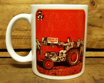300ml Coffee Mug - Vintage Tractor - Massey Ferguson 25 MF25