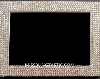 Customised Blinged Crystal Photo Frame