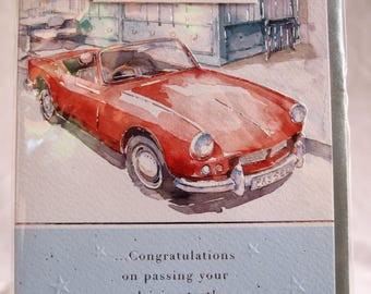 You've Passed!.. Congratulations on Passing your Driving Test!  Card