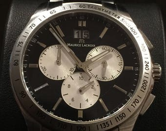 Maurice Lacroix Miros Chronograph Gents' Watch. Ref AT34062. Box, papers, links.