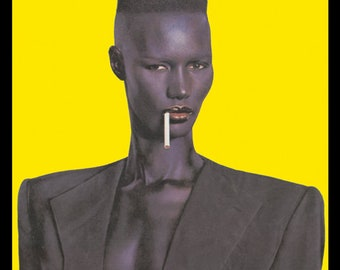 Grace Jones Poster  Nightclubbing