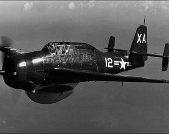 Poster, Many Sizes Available; U.S. Navy Grumman Tbm-3W Avenger 1948