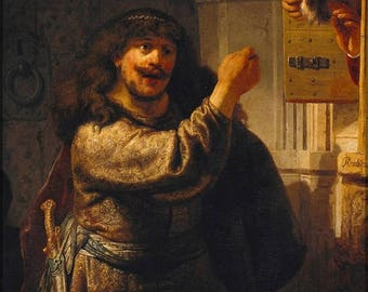 40% OFF SALE Poster, Many Sizes Available; Simson Threatened His Father-In-Law By Rembrandt