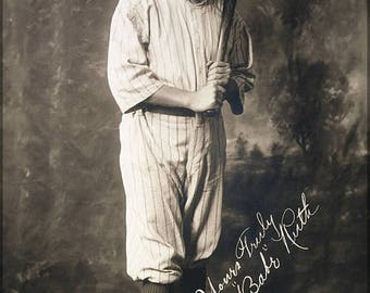 20% Off Sale - Poster, Many Sizes Available; Babe Ruth,