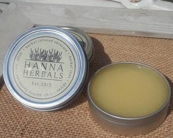 Island Breeze Body Balm - 2 ounces - dry skin balm - hand and foot balm - gardening balm - cracked heels balm - dry knees balm
