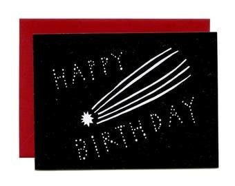 Happy Birthday (Flat Notecard)