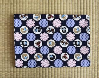 cotton japan shiba inu fabric 1/2 yard